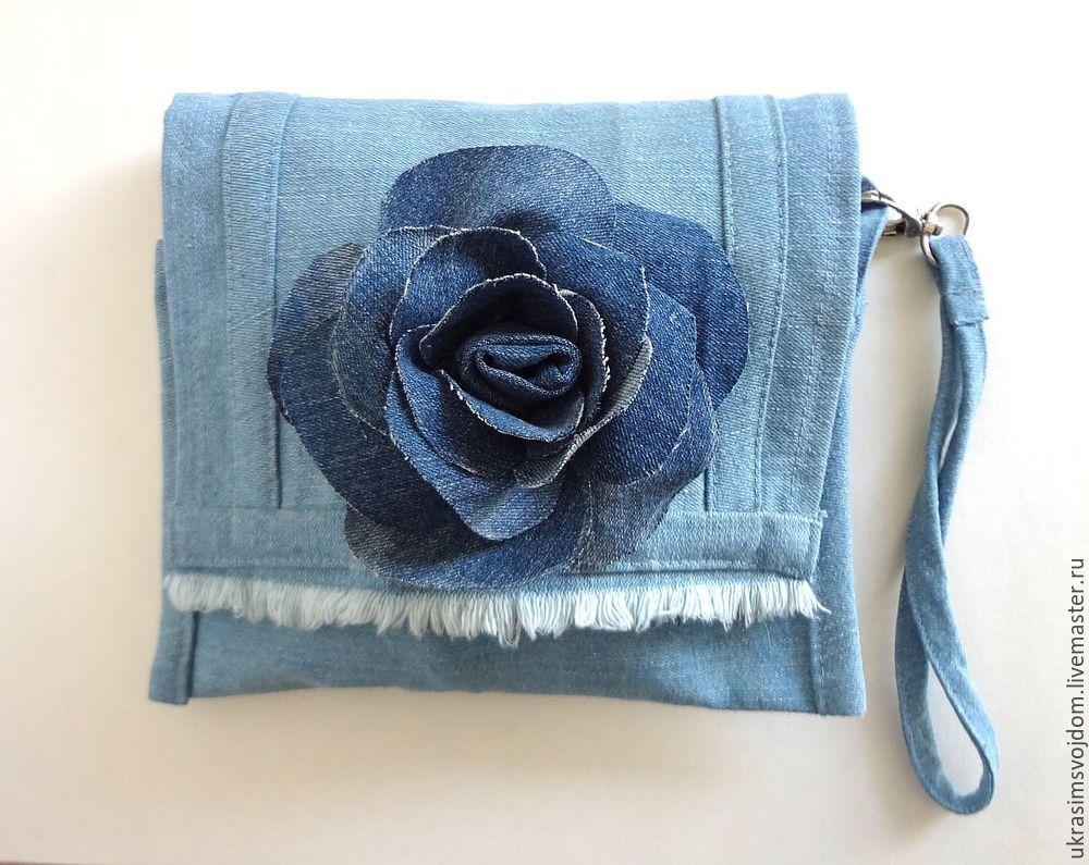 роза джинсовая мк