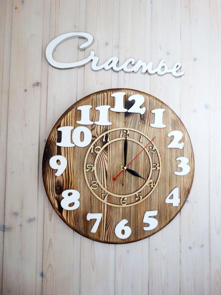 новый год, купить деревянные часы, интерьер
