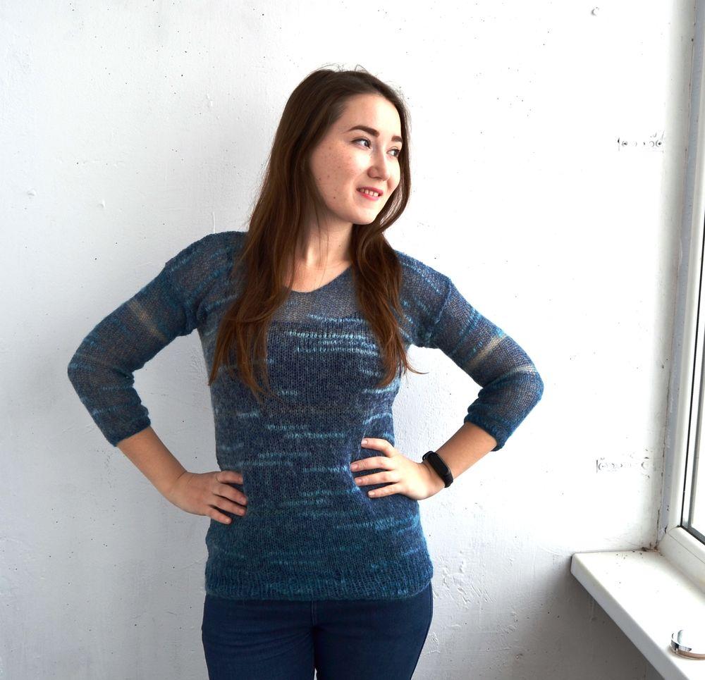 пуховый свитер