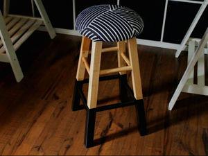Как сделать стильное мягкое сиденье для деревянного стула. Ярмарка Мастеров - ручная работа, handmade.
