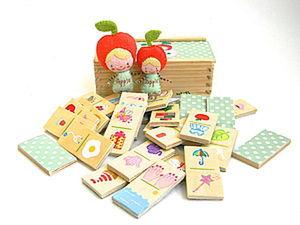 Dominoes for Kids: Refreshing an Old Set. Livemaster - handmade