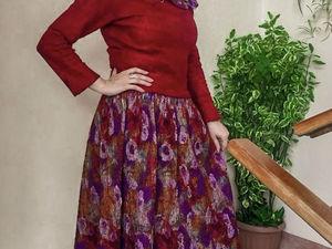 Выберите себе шелк-сари на валяное платье. Ярмарка Мастеров - ручная работа, handmade.