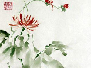 Китайская живопись У-Син, мастер-класс для начинающих | Ярмарка Мастеров - ручная работа, handmade