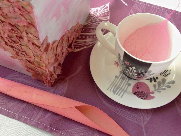 Коробочка с чудесами.. или новое обрамление для чайной пары) | Ярмарка Мастеров - ручная работа, handmade