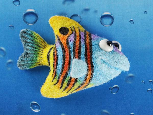 Рыбка   Ярмарка Мастеров - ручная работа, handmade