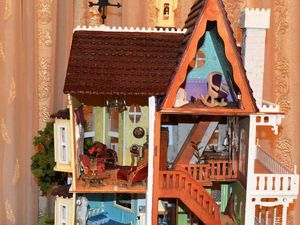 Как мы делали кукольный дом. Часть 2. Ярмарка Мастеров - ручная работа, handmade.