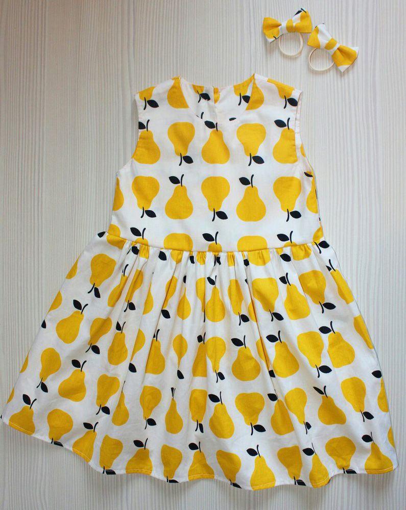 Детское платье из нашей ткани, фото № 2
