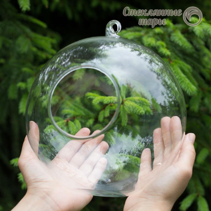 стеклянная ваза, для флорариума, стеклянный декор, стеклянная заготовка