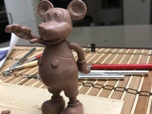 Микки Маус Диктатор (создание). Ярмарка Мастеров - ручная работа, handmade.