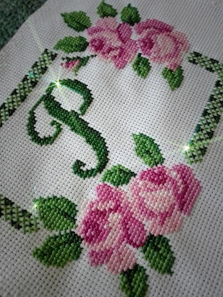 вышивка, вышивка крестиком, розы, вышитые цветы, процесс, творчество, вдохновение
