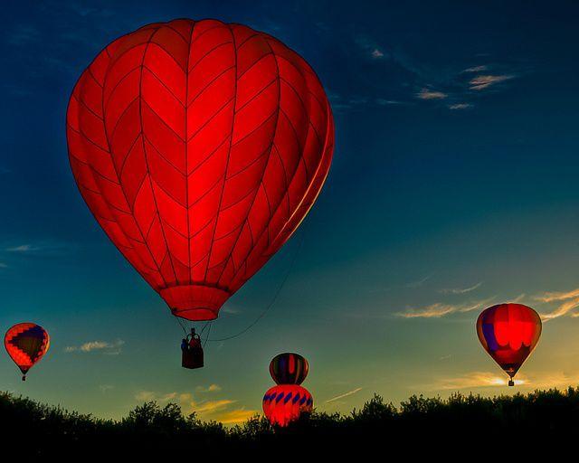 hot air balloon Arizona