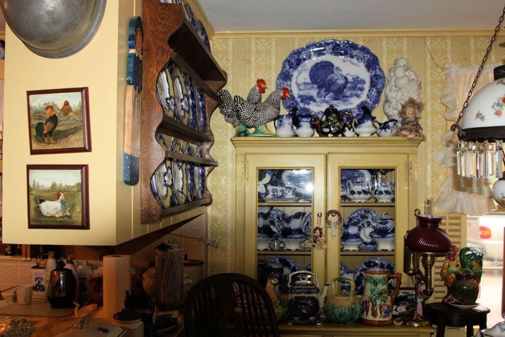 Flow blue — антикварная красота из Англии, фото № 22