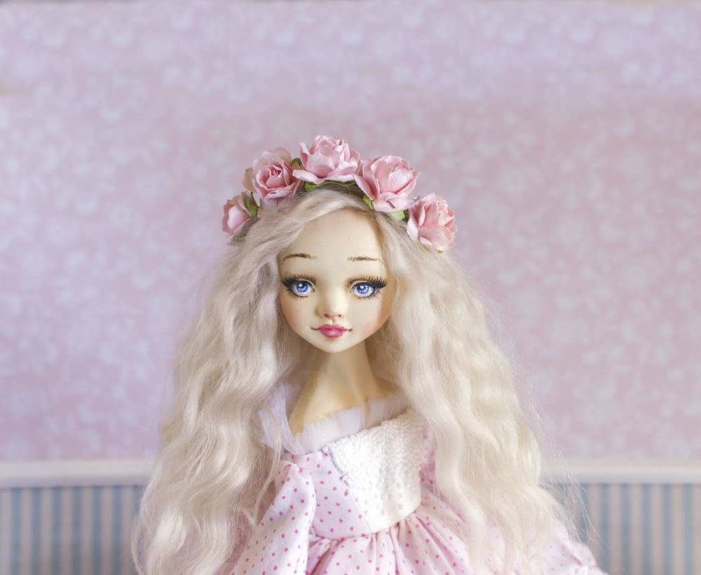 купить текстильная кукла