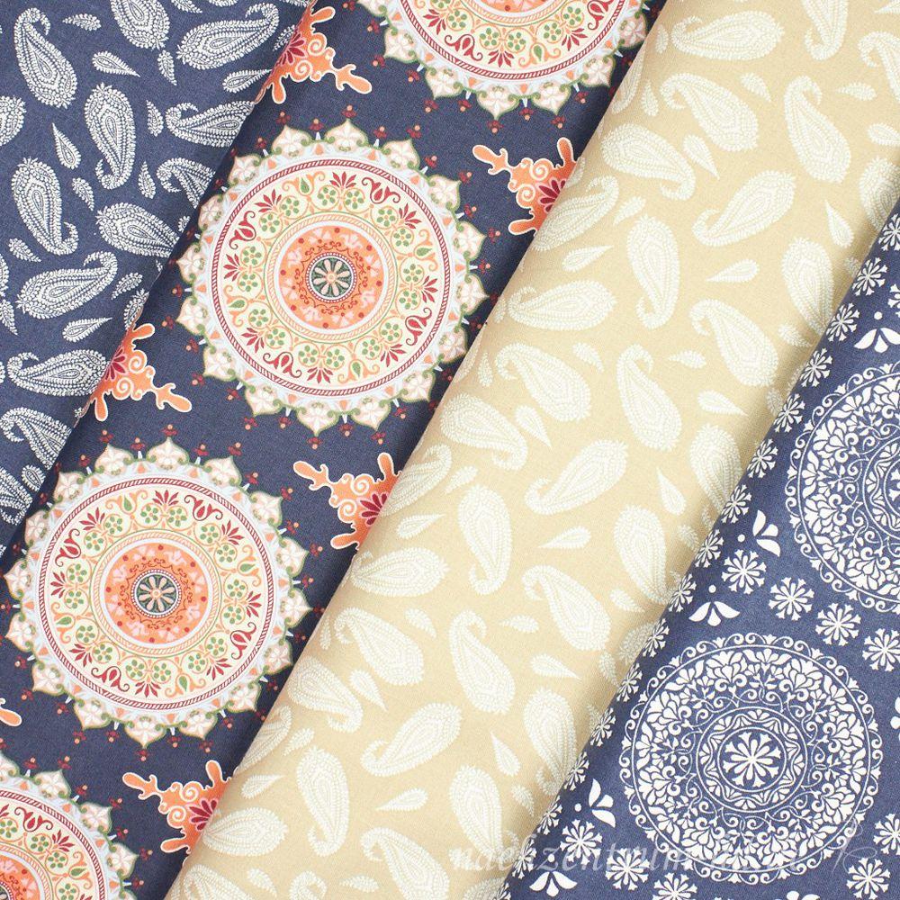 ткань для одежды, мандала индейская