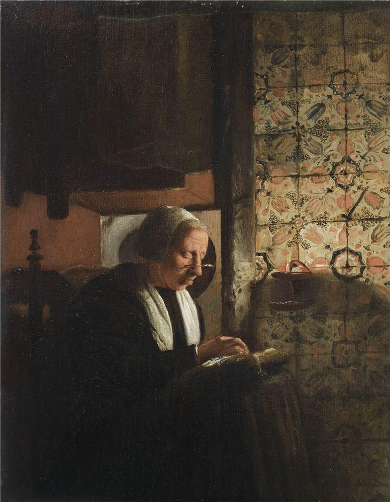 Когда есть чем заняться — стареть некогда: душевные картины о бабушках-рукодельницах, фото № 12