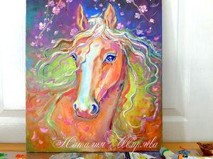 Новая картина с лошадью