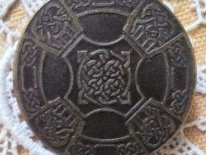 АУКЦИОН: Антикварная бронзовая брошь