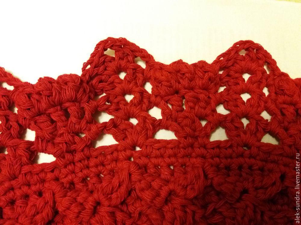 вязание крючком, ажур, для девушек
