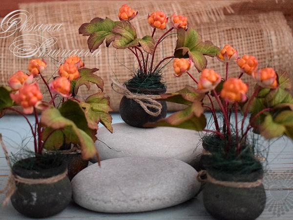 Урожай морошки! | Ярмарка Мастеров - ручная работа, handmade