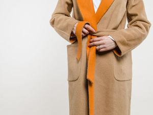 Двухлицевая пальтовая шерсть MAX MARA. Ярмарка Мастеров - ручная работа, handmade.