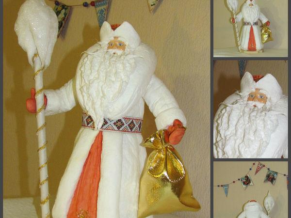 Большой Мороз из ваты   Ярмарка Мастеров - ручная работа, handmade