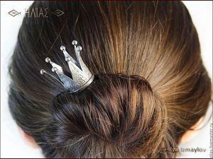 Неделя скидок!! 22.01.18 - 28.01.18 Короны для настоящих королев!. Ярмарка Мастеров - ручная работа, handmade.