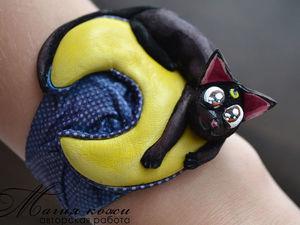 Кошка — Луна :). Ярмарка Мастеров - ручная работа, handmade.