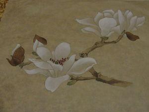 Магнолия в китайской живописи | Ярмарка Мастеров - ручная работа, handmade