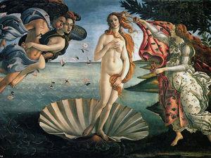 Новая жизнь «Венеры» Botticelli. Ярмарка Мастеров - ручная работа, handmade.