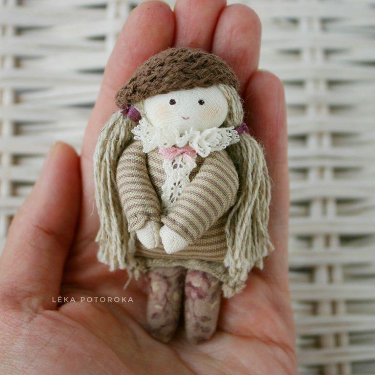 текстильная кукла, 8 марта