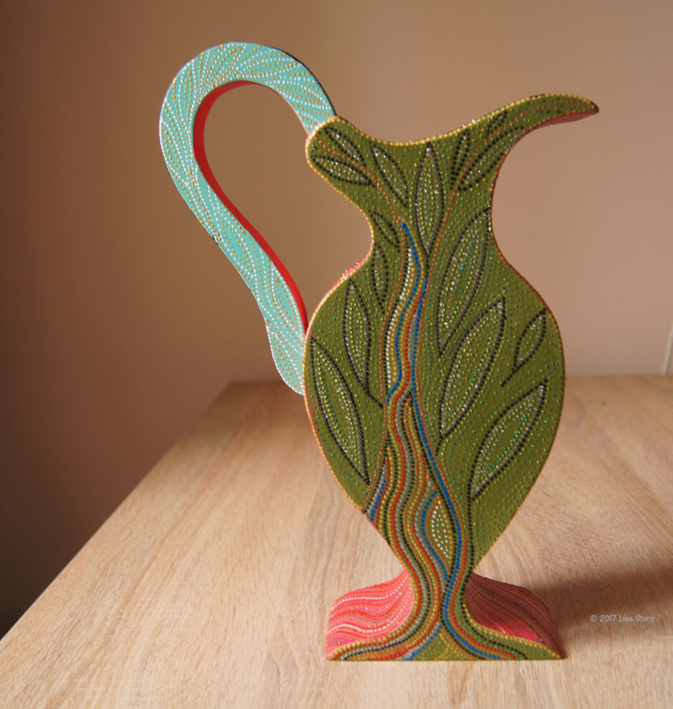подарок на 8 марта, вазы с росписью