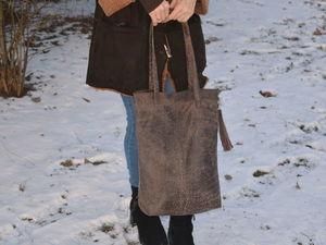 Аукцион на сумочку из натуральной кожи. Ярмарка Мастеров - ручная работа, handmade.