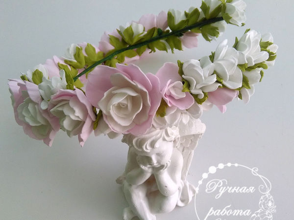 Мастер-класс: цветы из фоамирана для дополнения композиции | Ярмарка Мастеров - ручная работа, handmade