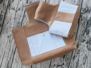 Обзор для комплекта проектных сумок. Ярмарка Мастеров - ручная работа, handmade.