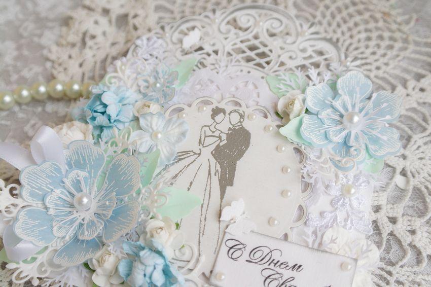 Свадебная открытка конверт, фото № 3