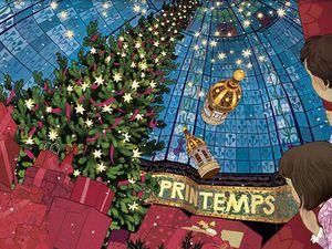 Волшебные окна: рождественские витрины Парижа 2016. Ярмарка Мастеров - ручная работа, handmade.