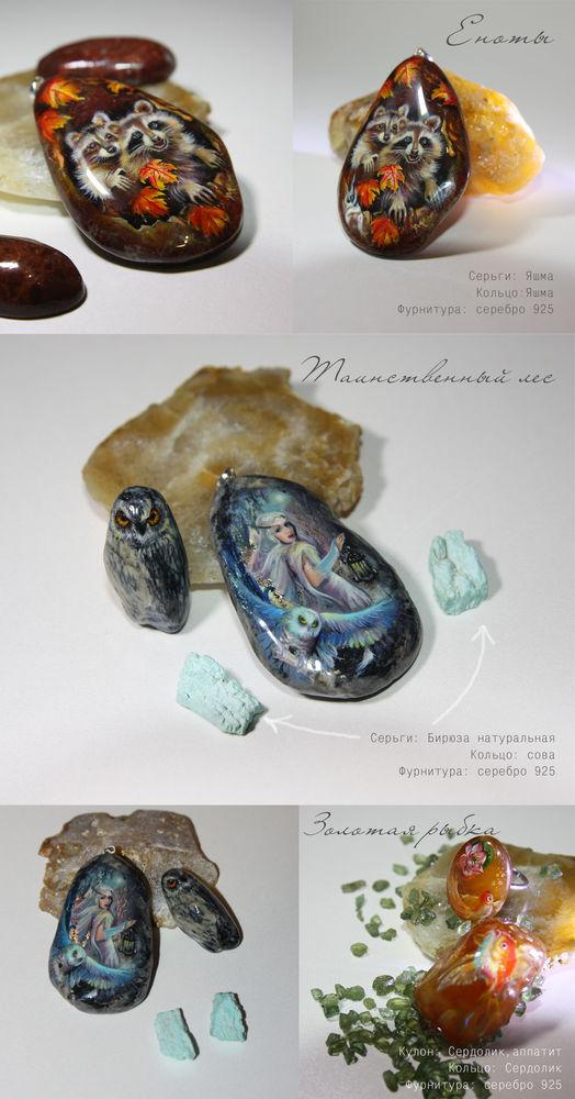 анонс новинок, лаковая миниатюра, роспись по камню