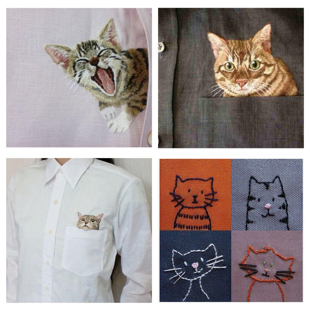 Детали решают все, или Превращаем обычную одежду в арт-объект, фото № 27
