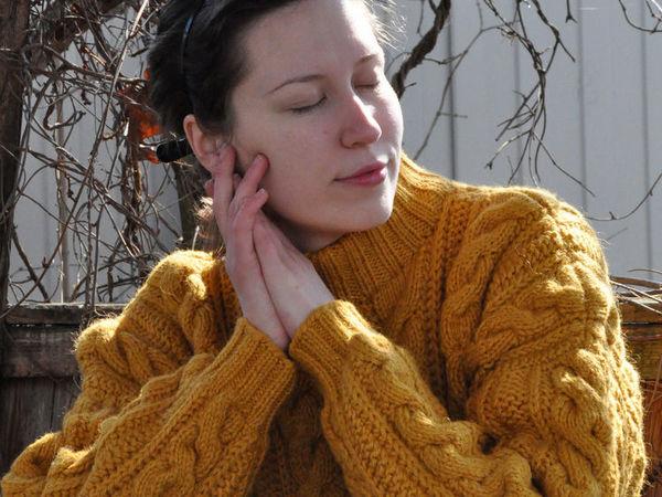 Новые свитера из серии «Прогулка по заброшенному саду» | Ярмарка Мастеров - ручная работа, handmade