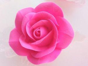 Цветы из новой глины. Ярмарка Мастеров - ручная работа, handmade.