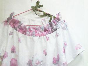С наступлением лета! Летняя СКИДКА для ВАС на лёгкую нежную блузку! | Ярмарка Мастеров - ручная работа, handmade