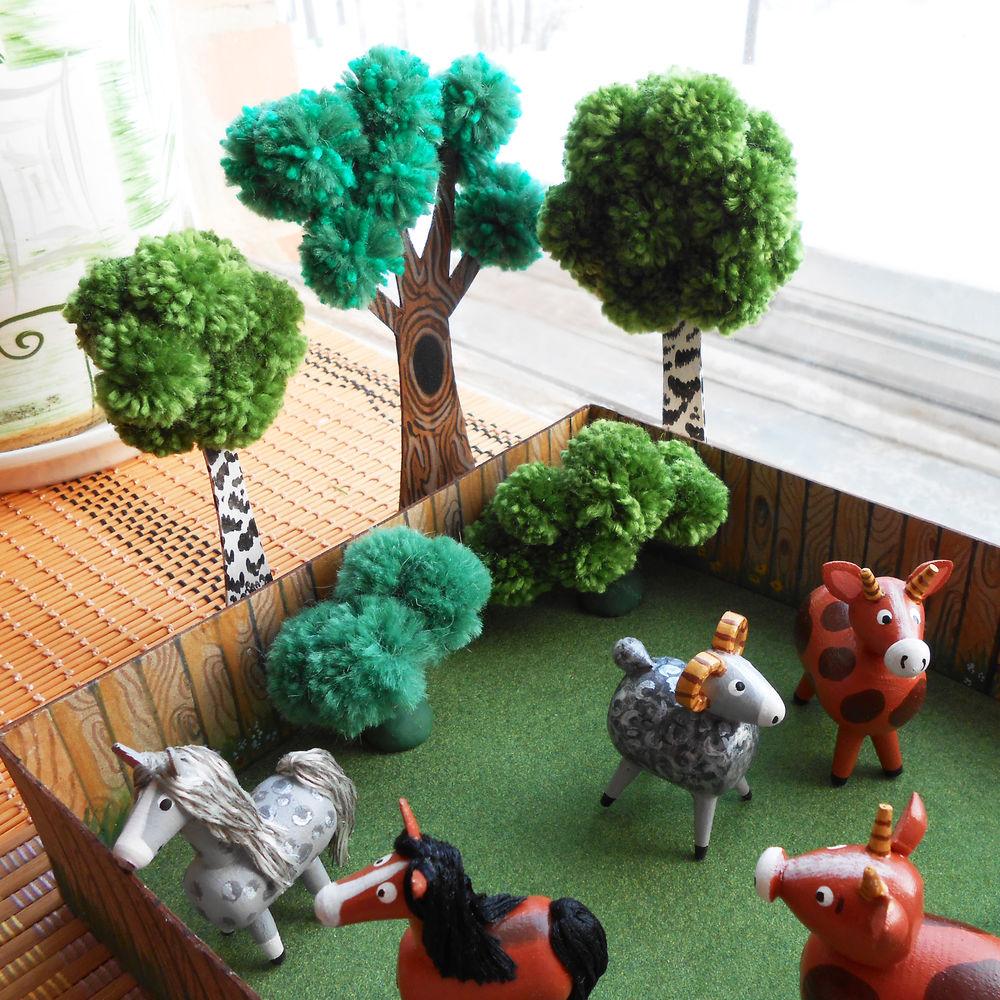 игрушки из дерева