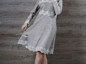 Акция магазина! Валяное платье за пол цены!. Ярмарка Мастеров - ручная работа, handmade.