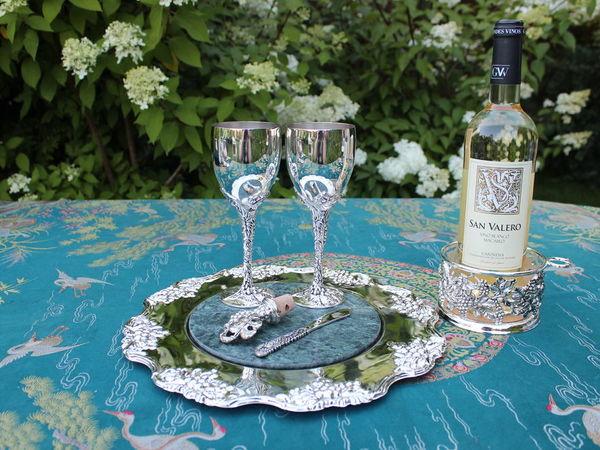 Что нужно для приятного винопития ? | Ярмарка Мастеров - ручная работа, handmade