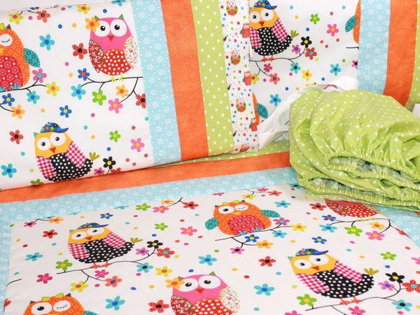 Новый комплект в кроватку | Ярмарка Мастеров - ручная работа, handmade