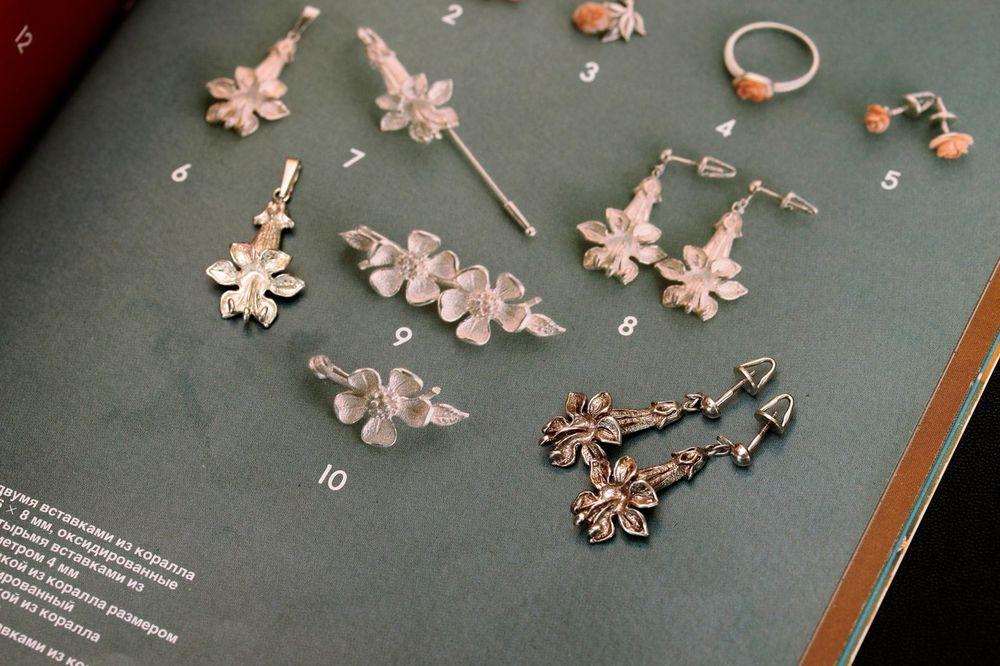 винтажные украшения, янтарь, таллинский ювелирный, серьги