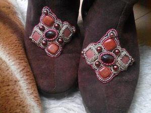 Декорируем и реставрируем зимнюю обувь. Ярмарка Мастеров - ручная работа, handmade.