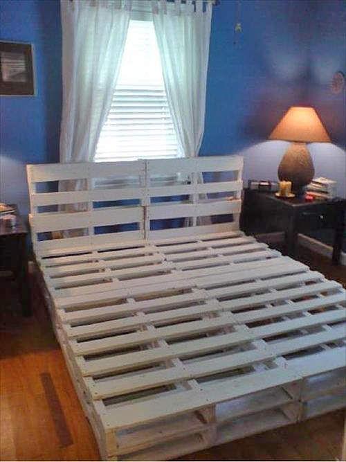паллет кровать-2