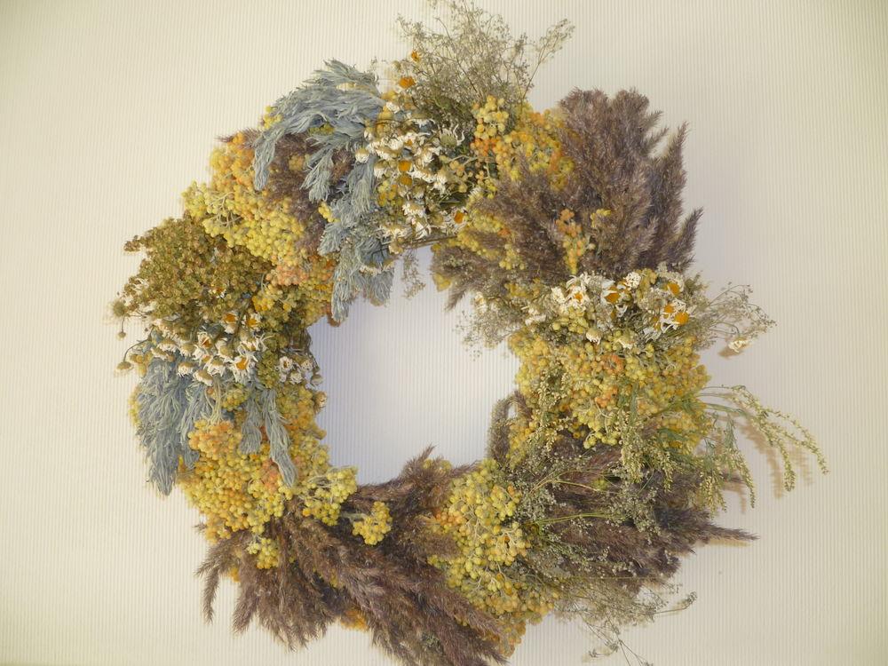 публикация, сухоцветы, травы ручного сбора