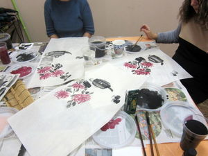 Про чай, хризантемы и МК по китайской живописи). Ярмарка Мастеров - ручная работа, handmade.